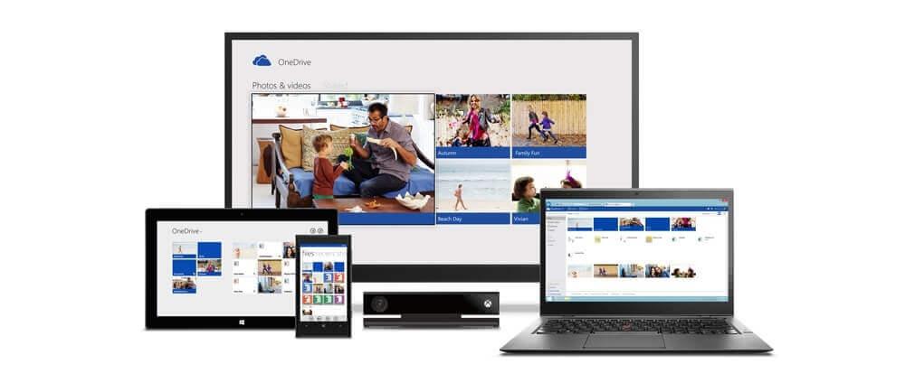 OneDrive voor verschillende apparaten