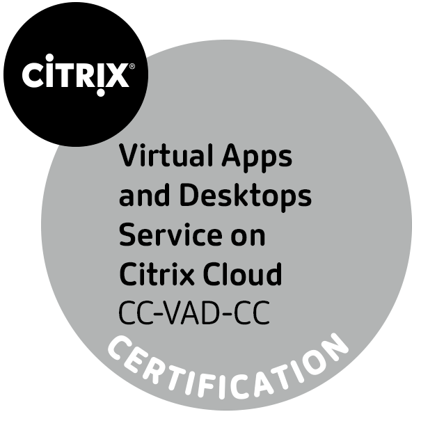 Moving to the Citrix Virtual Apps and Desktops Service on Citrix Cloud – CXD-250 Training