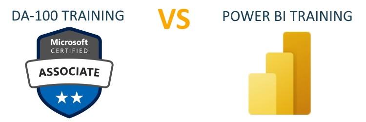 da 100 training versus power bi cursus
